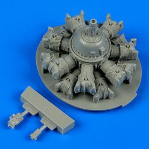 SB2C Helldiver - Engine [Revell] · QB 48560 ·  Quickboost · 1:48