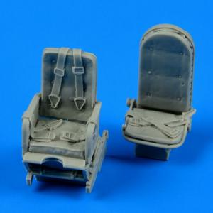 Ju 52 - Seats with safety belts · QB 48568 ·  Quickboost · 1:48
