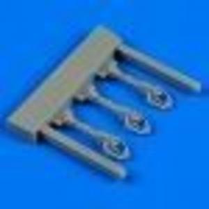 Lavochkin La-5F/FN - Control lever [Zvezda] · QB 48618 ·  Quickboost · 1:48