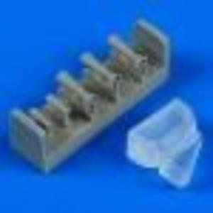 PO-2 - Landing light and venturi tubes [ICM] · QB 48619 ·  Quickboost · 1:48
