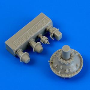 F4U-5 Corsair - Correct engine reductor [HobbyBoss] · QB 48668 ·  Quickboost · 1:48