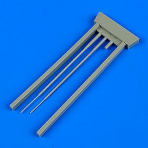 Su-9 Fishpot - Pitot tubes [Trumpeter] · QB 48678 ·  Quickboost · 1:48