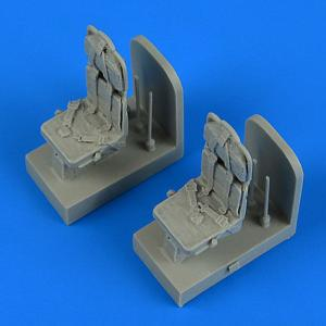 SH-3H Seaking - Seats with safety belts [Hasegawa] · QB 48715 ·  Quickboost · 1:48