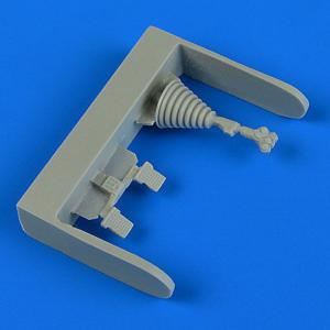 Su-25K Frogfoot - Control lever and pedals [KP/Smer] · QB 48722 ·  Quickboost · 1:48