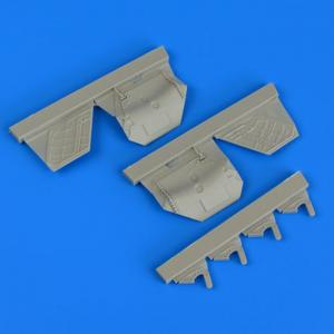F/A-22A Raptor - Undercarriage covers [Hasegawa] · QB 48798 ·  Quickboost · 1:48