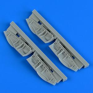 Bristol Beaufighter - Undercarriage covers [Revell] · QB 48912 ·  Quickboost · 1:48