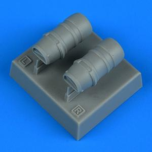 Macchi Mc.205 Veltro - Oil radiators [Hasegawa] · QB 48922 ·  Quickboost · 1:48