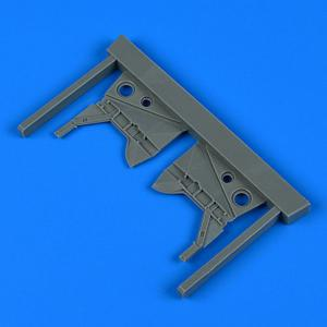 Hawker Hurricane - Undercarriage covers [Airfix] · QB 48943 ·  Quickboost · 1:48