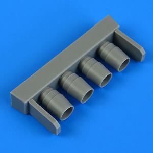 IA 58 Pucara - Exhaust [Kinetic] · QB 48986 ·  Quickboost · 1:48