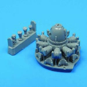 P-47D Th- Underbolt - Engine [Tamiya] · QB 72003 ·  Quickboost · 1:72