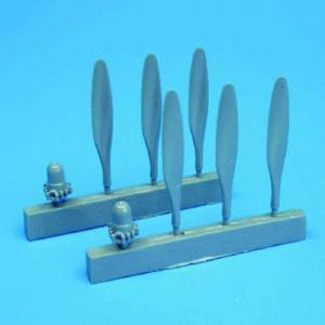 PBY-5 Catalina - Propellers [Academy] · QB 72006 ·  Quickboost · 1:72