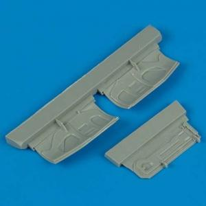 F-16 - Undercarriage covers [Hasegawa] · QB 72146 ·  Quickboost · 1:72