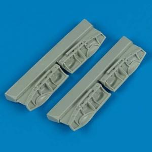 BF - Undercarriage covers [Hasegawa] · QB 72158 ·  Quickboost · 1:72