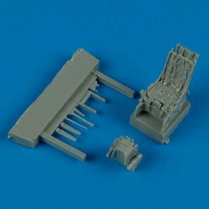 Su-27 - Ejection seat with safety belts · QB 72279 ·  Quickboost · 1:72