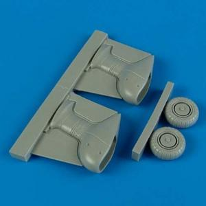 Junkers Ju 87 G Stuka - Correct spatted - Undercarriage [Academy] · QB 72328 ·  Quickboost · 1:72