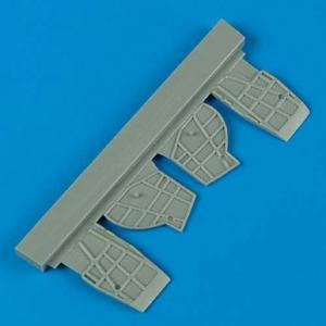 SB2C Helldiver - Undercarriage covers · QB 72354 ·  Quickboost · 1:72