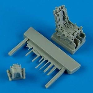 MiG-29A - Ejection seat with safety belts · QB 72410 ·  Quickboost · 1:72