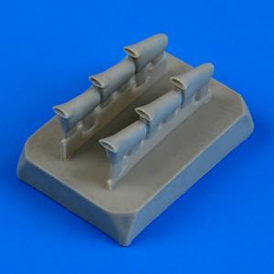 Boulton Paul Defiant Mk.I - Exhaust-fishtail [Airfix] · QB 72483 ·  Quickboost · 1:72