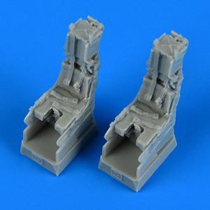 F/A-18F Super Hornet - Ejection - Seats with safety belts [Hasegawa] · QB 72547 ·  Quickboost · 1:72