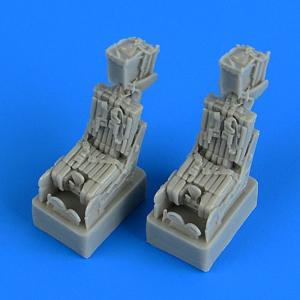 F-14A Tomcat ejection - Seats with safety belts [Fujimi] · QB 72556 ·  Quickboost · 1:72