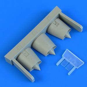 Mirage F.1 - Air intakes [Special Hobby] · QB 72615 ·  Quickboost · 1:72