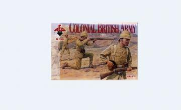 Colonial British Army, 1890 · RDB 72003 ·  Red Box · 1:72
