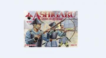 Ashigaru (Archers and Arquebusiers) · RDB 72006 ·  Red Box · 1:72