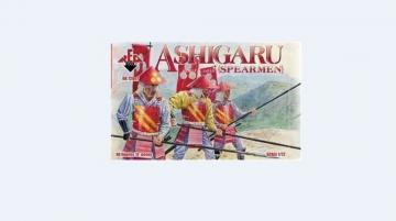 Ashigaru (Spearmen) · RDB 72007 ·  Red Box · 1:72