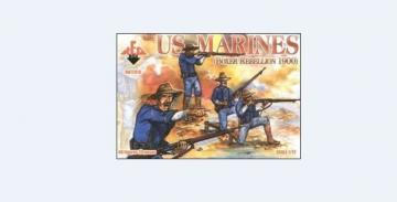 US Marines, Boxer Rebellion 1900 · RDB 72016 ·  Red Box · 1:72