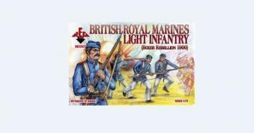 British Royal Marine Light Infantry,1900 · RDB 72022 ·  Red Box · 1:72