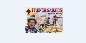 French sailors, Boxer Rebellion 1900 · RDB 72025 ·  Red Box · 1:72