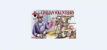 Civilian Volunteers, Boxer Rebellion 190 · RDB 72028 ·  Red Box · 1:72