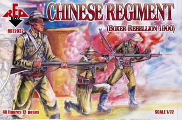 Chinese Regiment, Boxer Rebellion 1900 · RDB 72032 ·  Red Box · 1:72