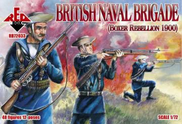 British naval brigade, Boxer Rebellion · RDB 72033 ·  Red Box · 1:72