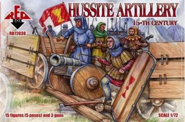 Hussite Infantry, 15th century · RDB 72039 ·  Red Box · 1:72
