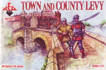 Town & Country Levy, War of the Roses 2 · RDB 72041 ·  Red Box · 1:72