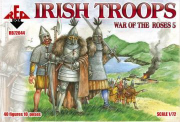 Irish troops, War of the Roses 5 · RDB 72044 ·  Red Box · 1:72