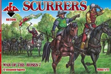 Scurrers, War of the Roses 7 · RDB 72046 ·  Red Box · 1:72