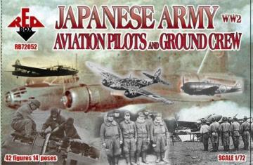 WW2 Japanese Army Aviation pilots a.grcr · RDB 72052 ·  Red Box · 1:72