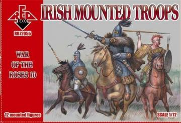 Irish mounted troops,War of the Roses 10 · RDB 72055 ·  Red Box · 1:72
