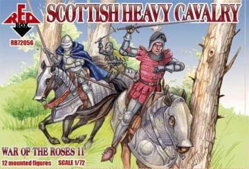 Scottish heavy cavalry,War o.the Roses11 · RDB 72056 ·  Red Box · 1:72