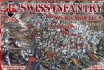 Swiss Infantry (Sword/Arqebus) 16th century · RDB 72060 ·  Red Box · 1:72
