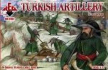 Turkish artillery, 17th century · RDB 72067 ·  Red Box · 1:72