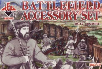 Battlefield accessory set,16th-17th cent · RDB 72073 ·  Red Box · 1:72