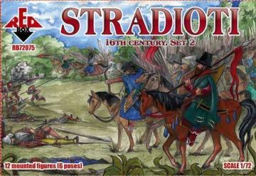 Stradioti, 16th century. Set 2 · RDB 72075 ·  Red Box · 1:72