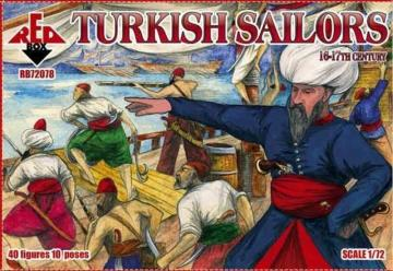 Turkisch sailor, 16-17th century · RDB 72078 ·  Red Box · 1:72