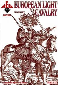 European cavalry,16th century,set 1 · RDB 72084 ·  Red Box · 1:72