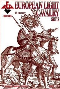 European light cavalry,16th century,set2 · RDB 72085 ·  Red Box · 1:72