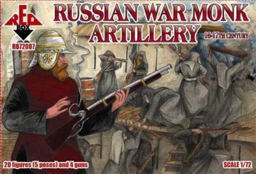 Russian war monk artillery,16-17th century · RDB 72087 ·  Red Box · 1:72