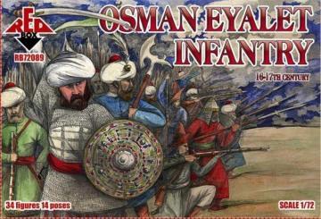 Osman Eyalet infantry,16-17th century · RDB 72088 ·  Red Box · 1:72